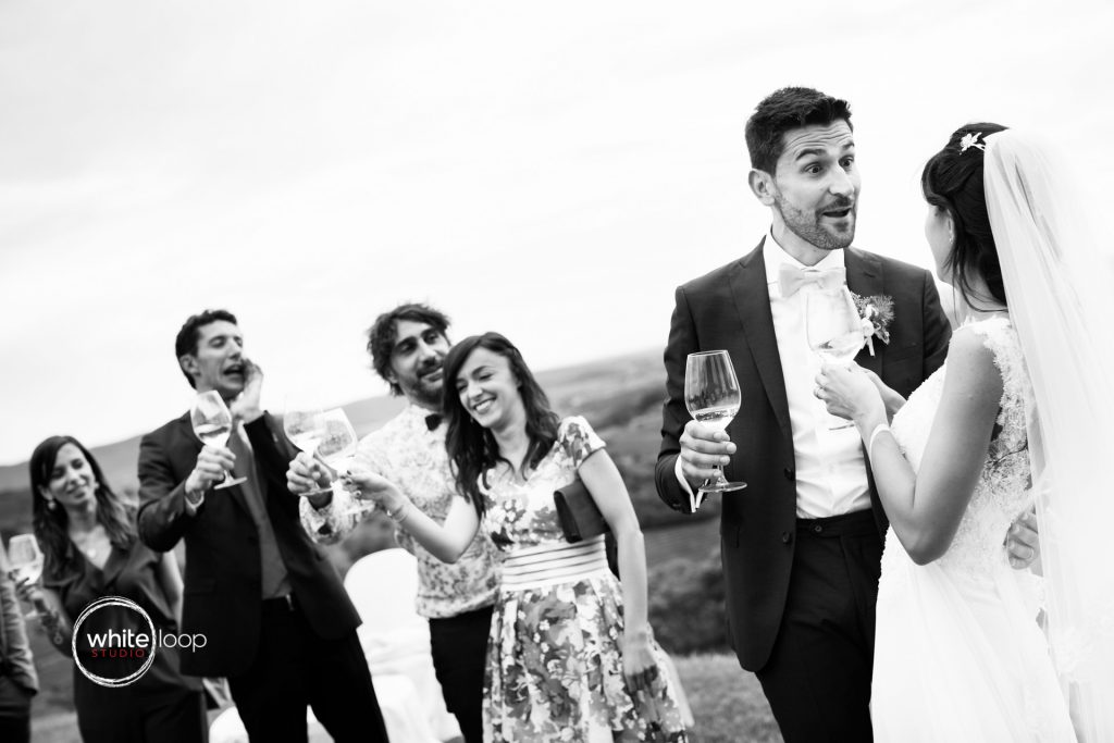Silvia and Emanuele Wedding in Italy, Reception at Baronesse Tacco, San Floriano del Collio by Davide Cristin