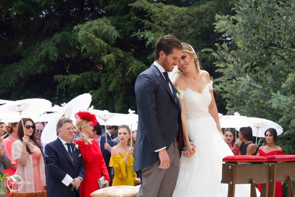 Paola and Gaston Wedding at Cedros Garden, Ceremony