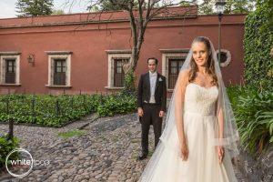 Dominique and Daniel Wedding, Portraits, Mexico City