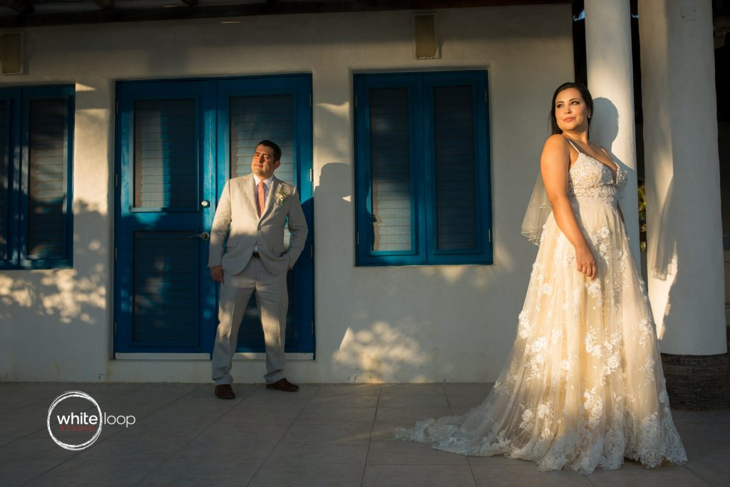 Marbela and Victor Wedding, Portraits, Puerto Escondido, Oaxaca