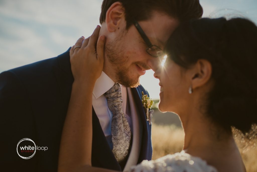 Esther and Javier Wedding, Braid and Groom Portrait, Jaen, South of Spain