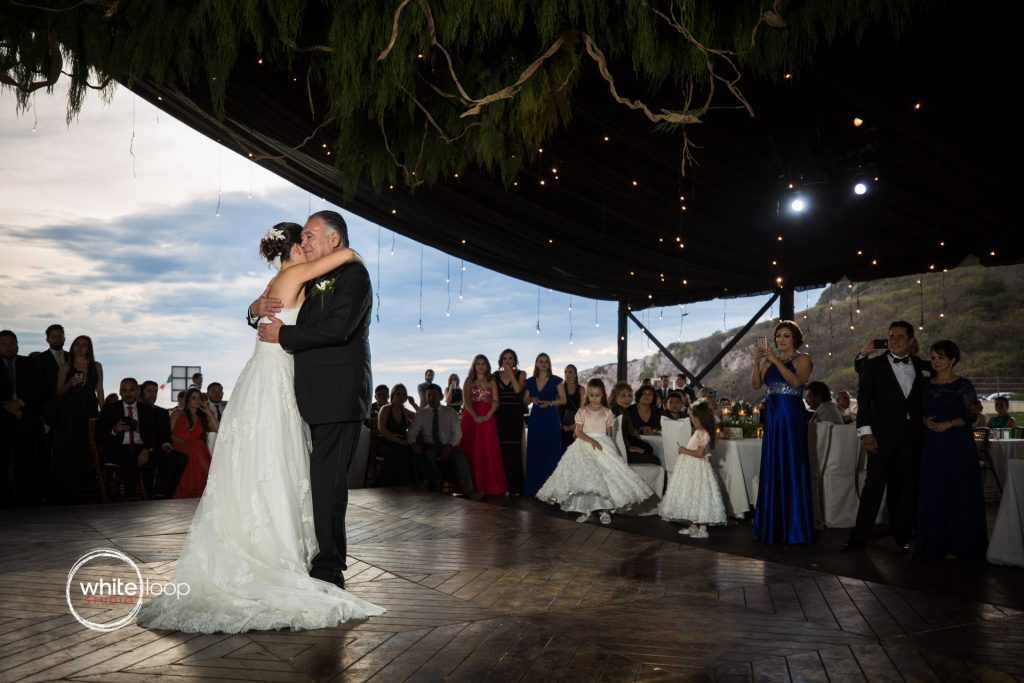 Eloisa and Pedro Wedding, First dance with father, Mazatlan, Sinaloa