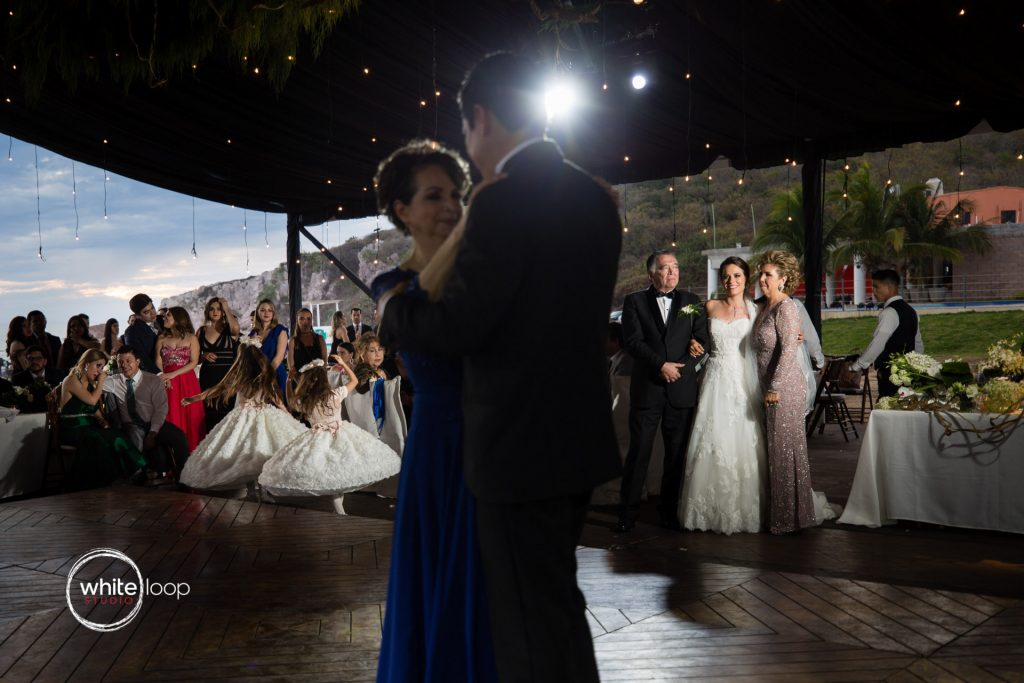 Eloisa and Pedro Wedding, First dance with mother, Mazatlan, Sinaloa