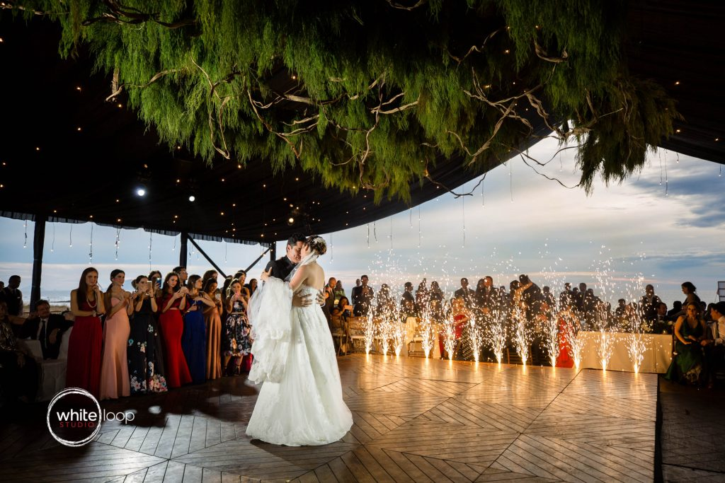 Eloisa and Pedro Wedding, First dance, Mazatlan, Sinaloa