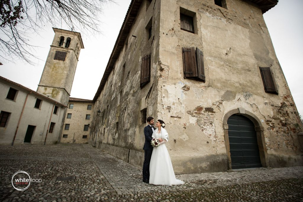 Valentina and Luca Wedding, Portraits, Strassoldo Castle, North Italy