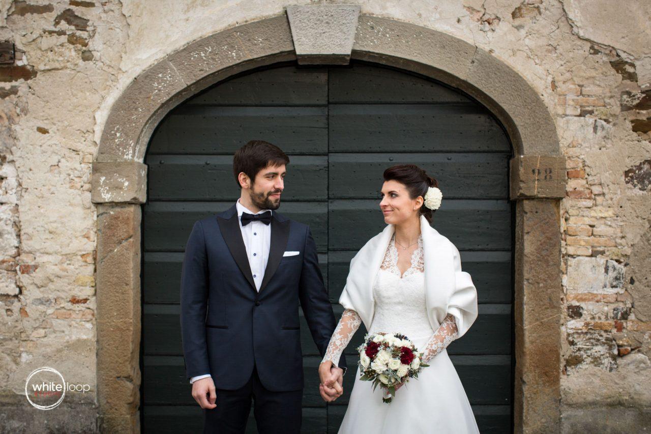 Valentina and Luca Wedding, Portraits, Strassoldo Castle, North Italy