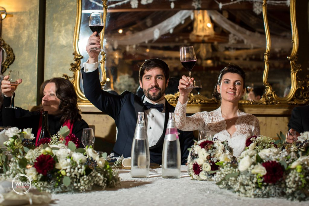 Valentina and Luca Wedding, Reception, Trattoria Al Paradiso, North Italy