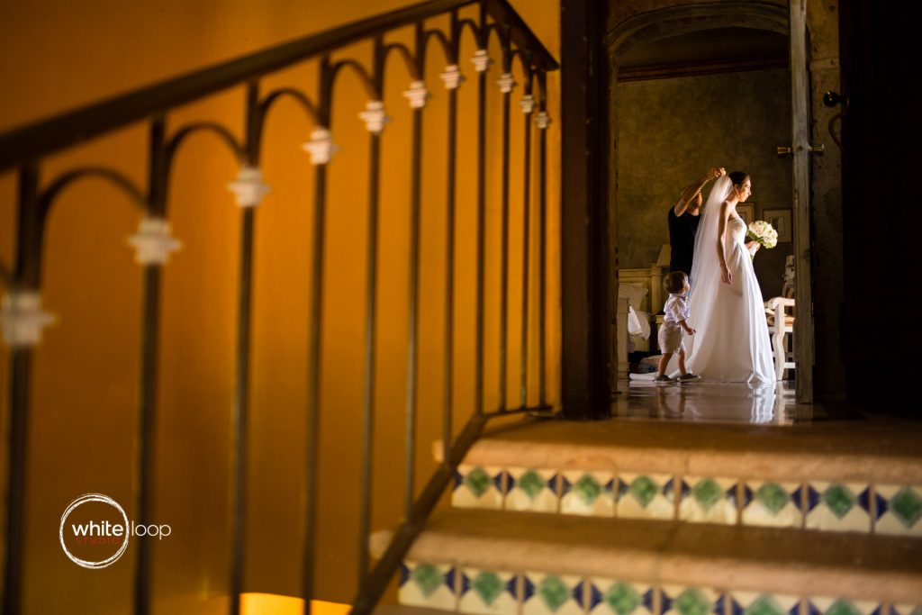 Mariana and Diego Wedding in Quinta San Carlos, Getting Ready