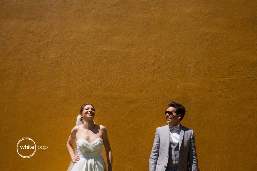 Mariana and Diego Wedding in Quinta San Carlos, Portrait Session