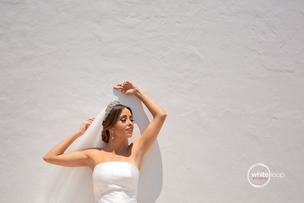 Mariana and Gabo Wedding in La Vita Bella Resort, Ajijic, Bride Portrait