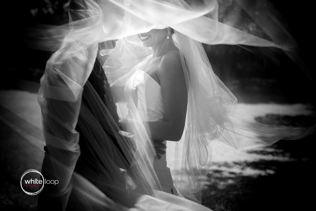 Mariana and Gabo, wedding portrait