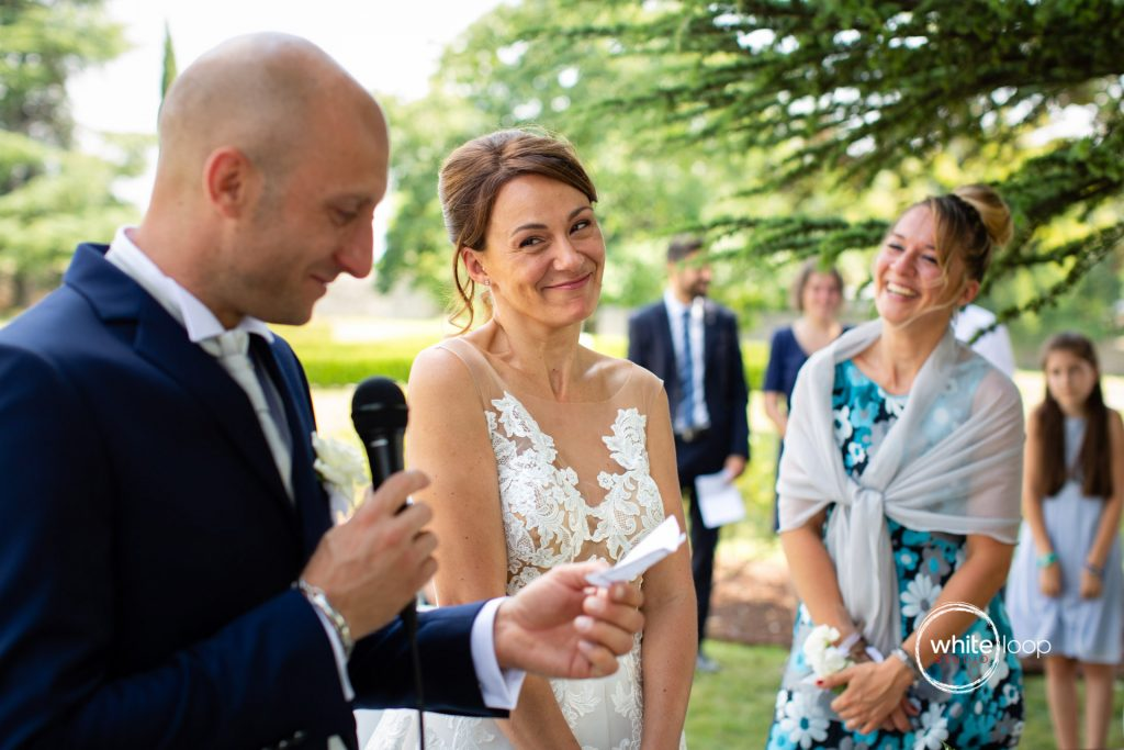 Sara and Riccardo Wedding, Ceremony, Castello di Susans, Gorizia, Italy
