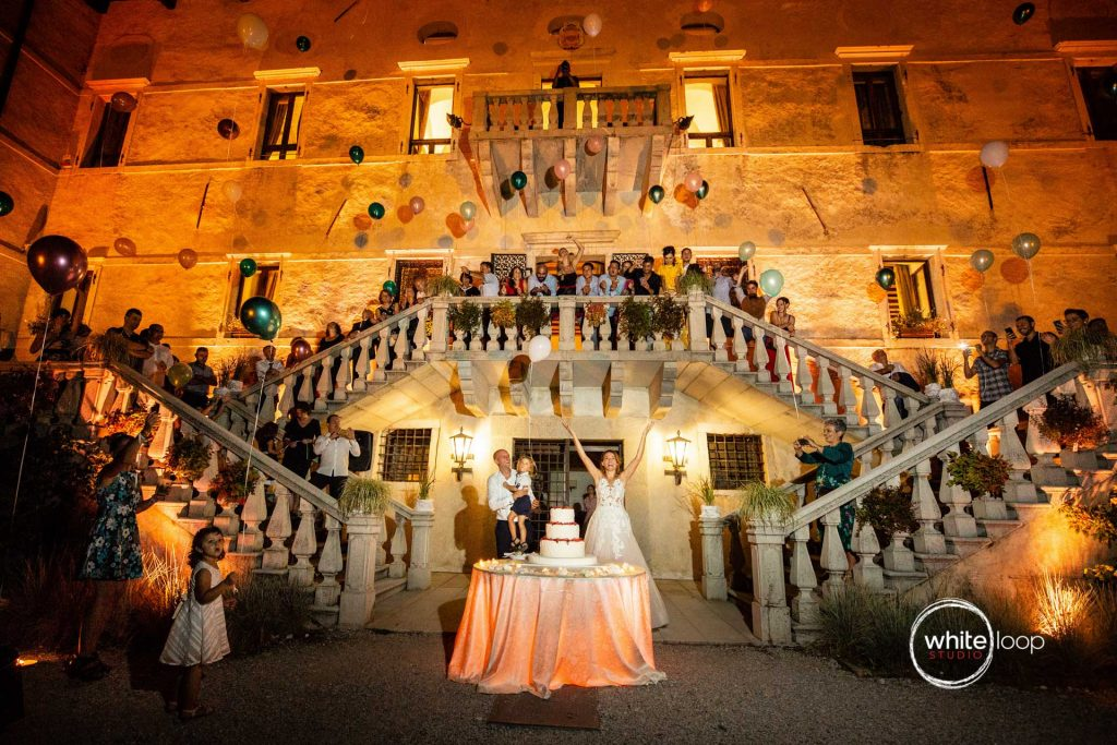 Sara and Riccardo Wedding, The Cake, Castello di Susans, Gorizia, Italy