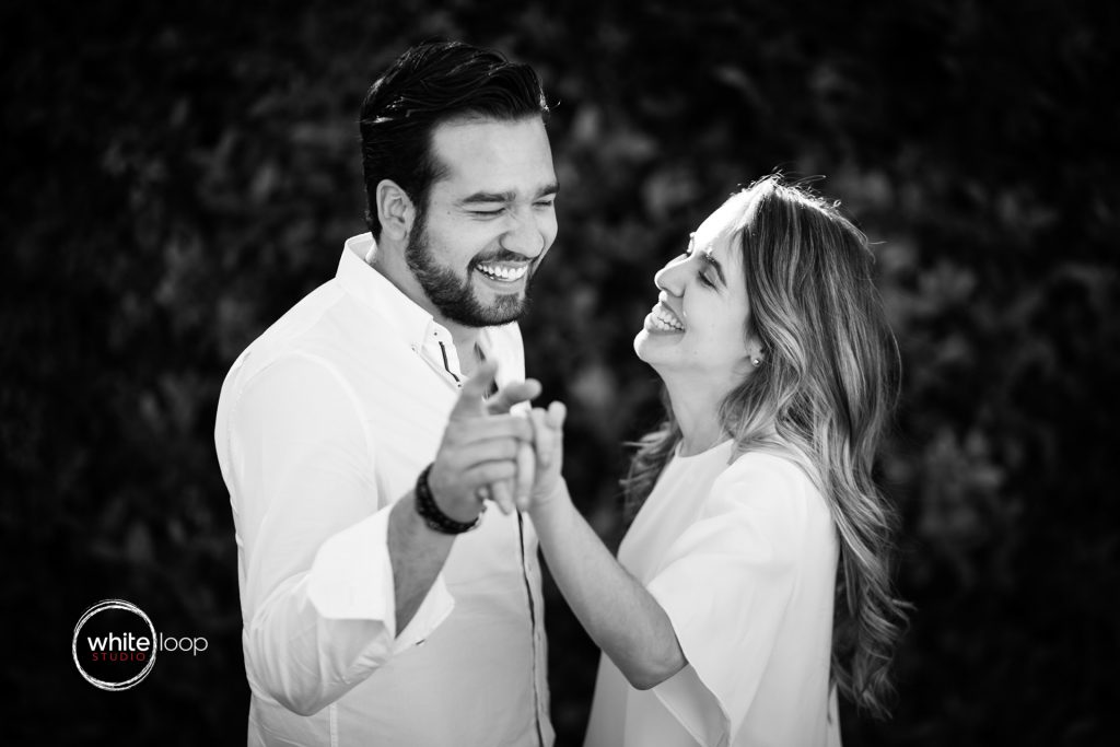 Alma and Santiago engagement